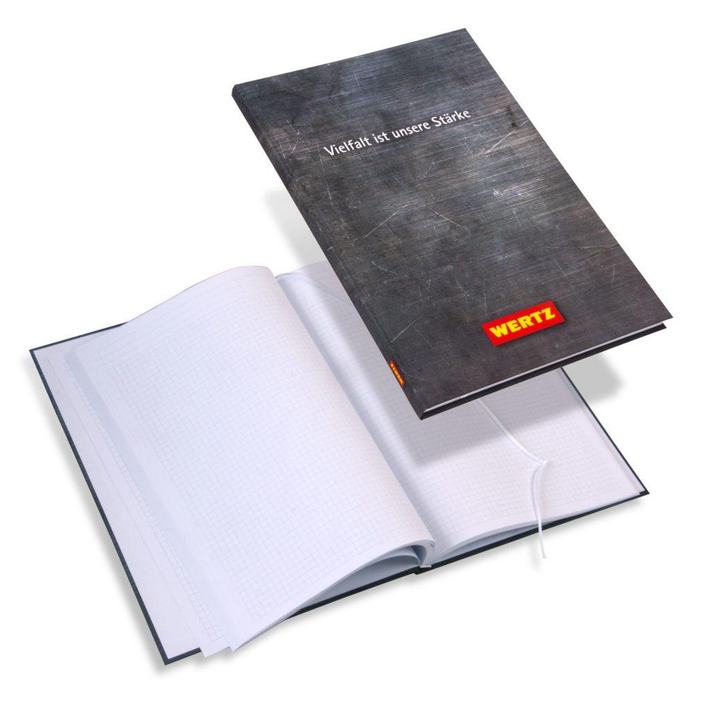 Wertz Notizbuch